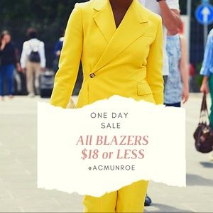 BLAZERS ON SALE 🌟 ONE DAY ONLY